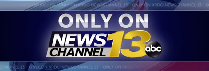 KRDO News Channel 13 logo that preceeds the news coverage of Soteric Group LLC as it trains the KRDO News Team in Self-Defense with instructor Ben Skee, Soteric Groups Self-Defense Consultant.