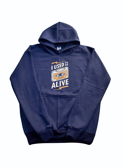 I USED TO BE ALIVE BLUE