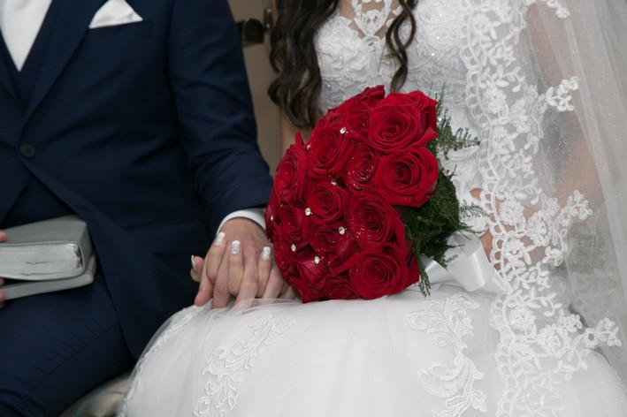 Cerimonia da festa de casamento