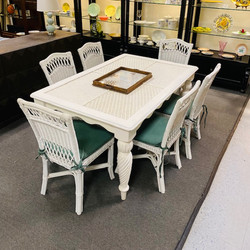 Wicker Table & Chair Set