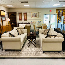 Furniture Of America Velvet Sofas