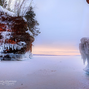 The Apostle Ice Caves