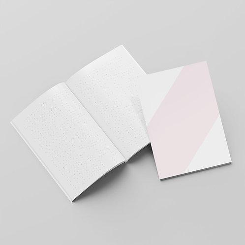 BOOM – Notizheft A5 in rosa, grün, blau oder gelb