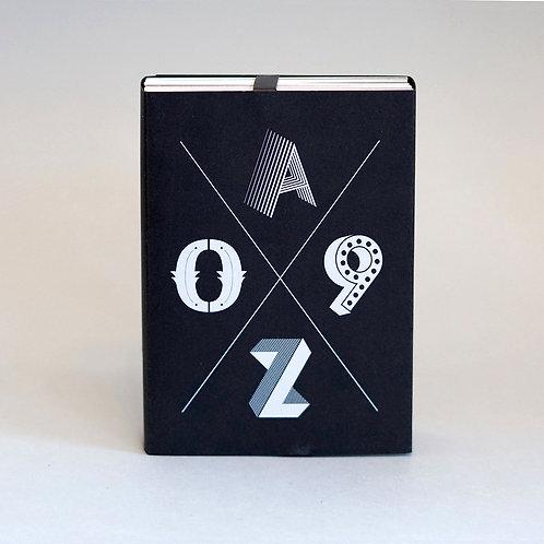 BOOM – Postkartenset A–Z/0–9