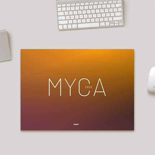 BOOM – MYCA Desk Calendar 2021
