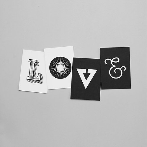 BOOM – 4er Kartenset