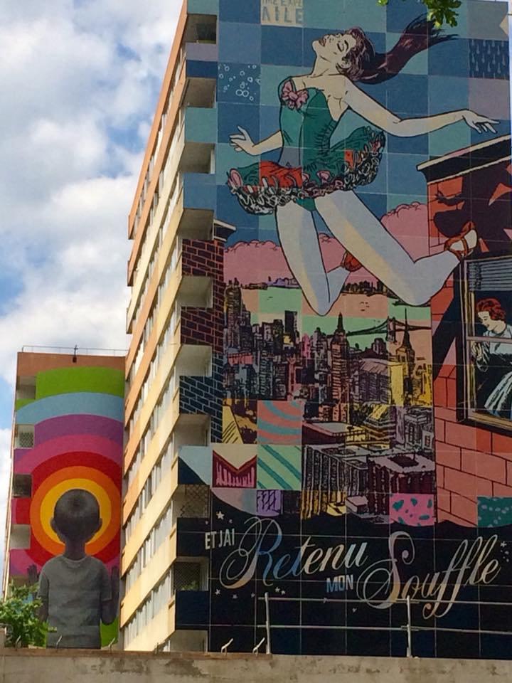 Paris : Butte aux Cailles et Street Art