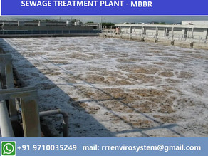 Sewage Treatment plant - Moving Bed Bio-Reactor (MBBR) processes improve reliability, simplify.