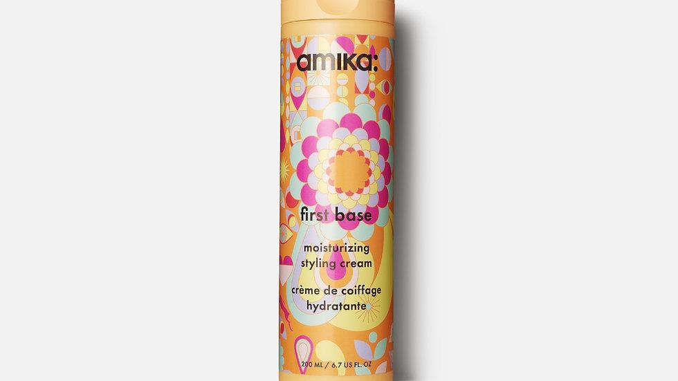 Amika First Base Moisturizing Styling Cream 6.7 fl oz./200 ml/