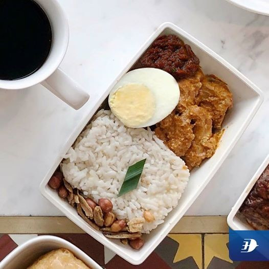 "Malaysia Airline's Facebook post on ""Crispy"" Rendang."
