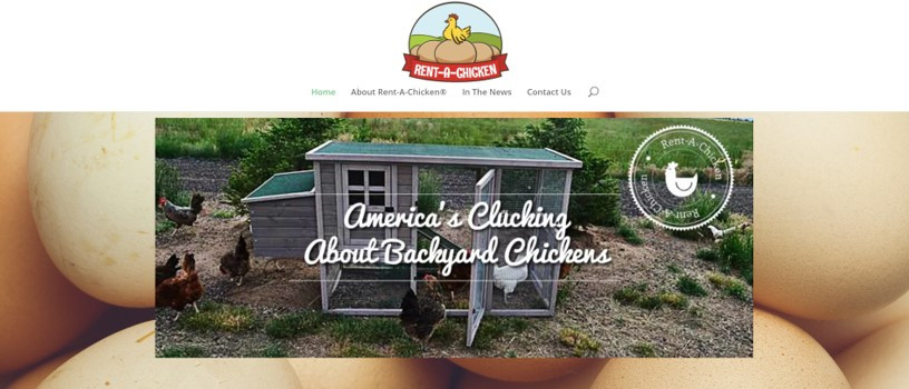 Rent-A-Chicken lets city dwellers rent chickens to experience farming.
