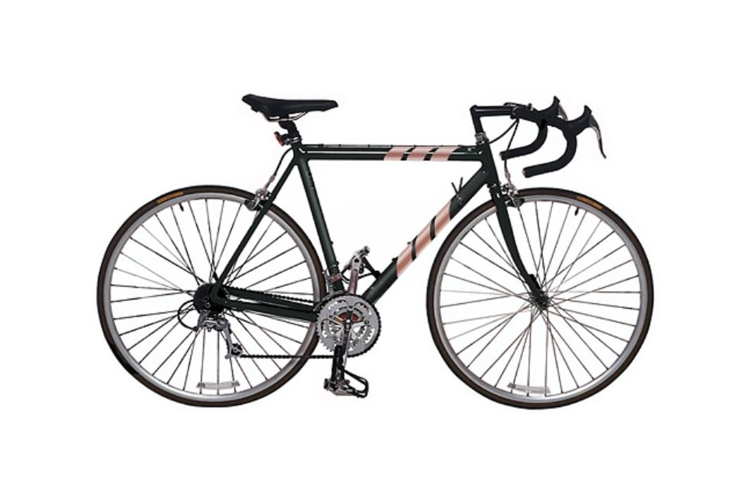 Stripe Bike - White