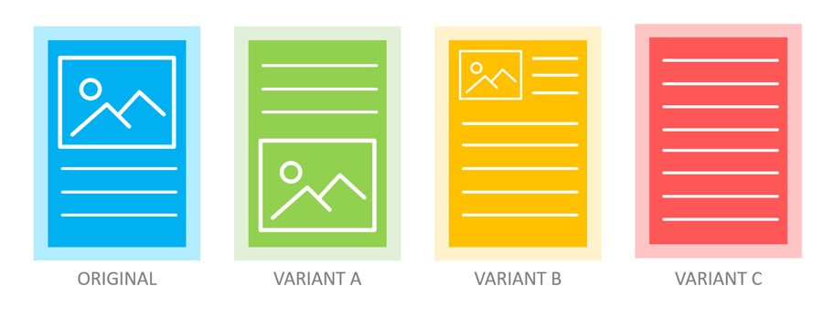 Marketers should conduct A/B testing on their webpages to understand which layout gives the best user experience.