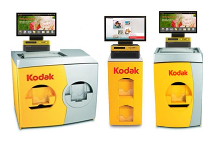 Kodak kiosks at partner stores.