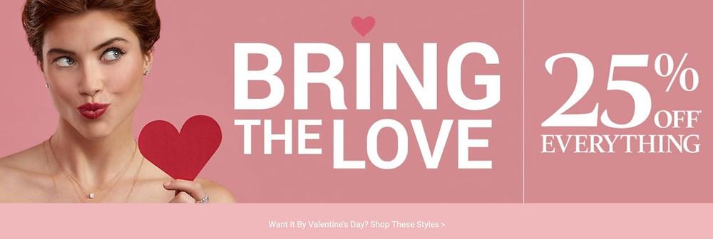 Zales Valentine's Day Advertisements