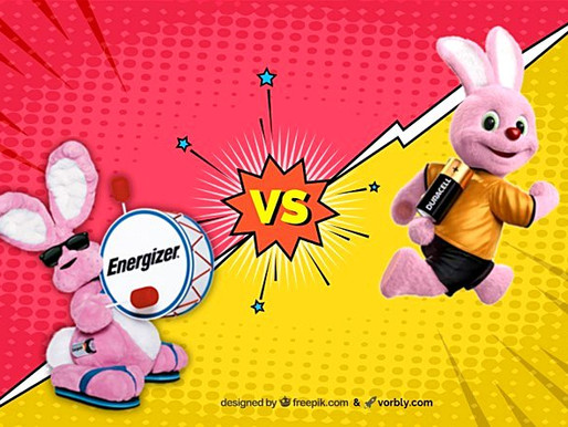 Who Stole The Pink Bunny? Energizer or Duracell?