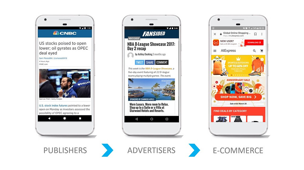 The AMP project has shifted from content publishers to advertisers and e-commerce websites.