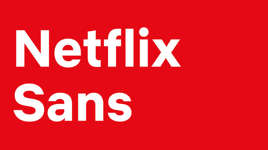 Netflix Sans, Netflix designed its custom font to build brand awareness and for cost savings.