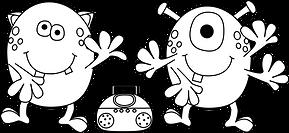 dancing-monsters-black-white.png