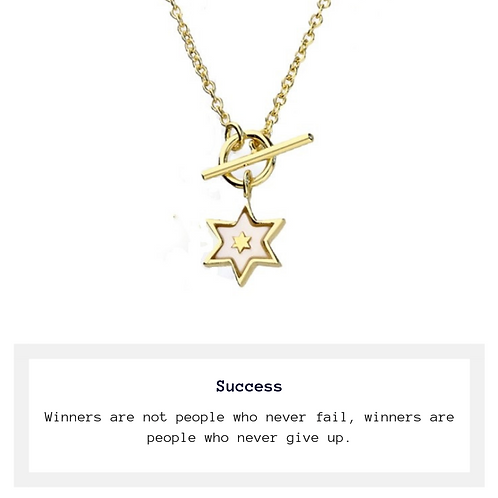 Aim for the Stars Necklace