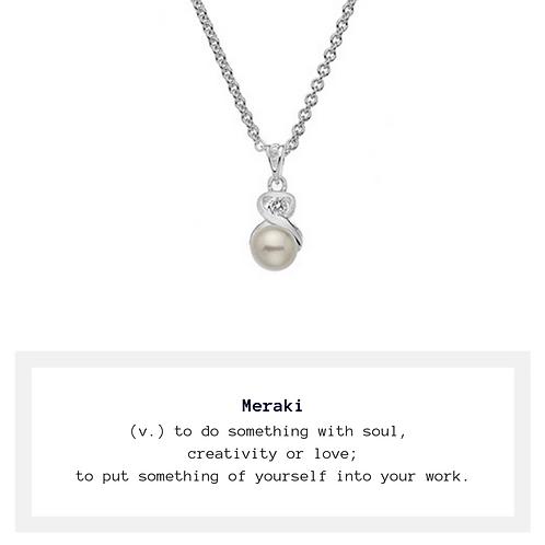 Meraki Freshwater Pearl Necklace