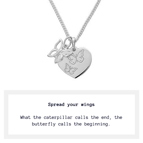 Freedom Butterfly Necklace