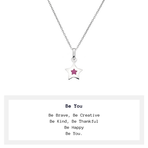 Children's Be You Star Necklace