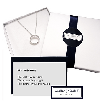 Mindful jewellery and law of attration gifts. Sterling silver Meaningful Jewellery with sentiment.