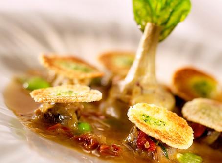 Recette #27 : Pistou d'escargots et petit artichaut violet à la tomate séchée