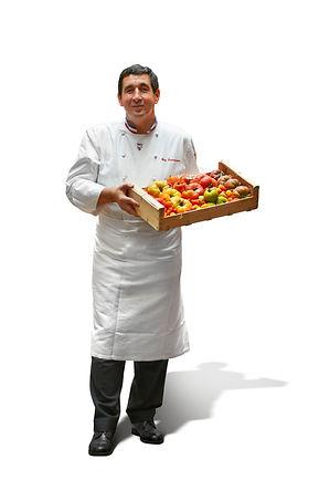 Portrait et tomates.JPG