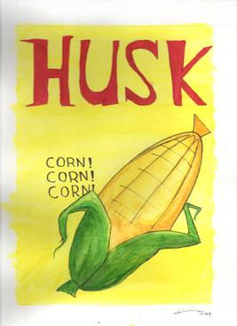 Husk Magazine cover (commission)