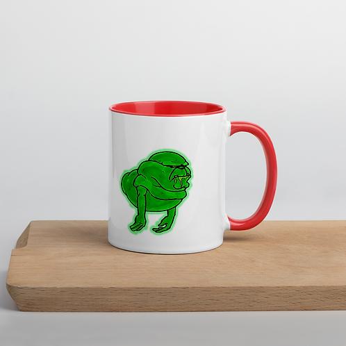 Ugly Little Spud Mug with Color Inside