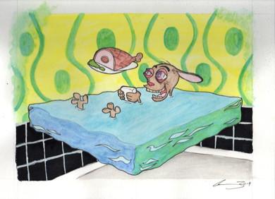 Space Madness (Glazed Ham) Commission