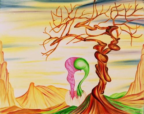 L'oeuf de l'arbre-cp