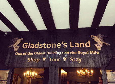 Bespoke Brand Work | Gladstone's Land, Edinburgh