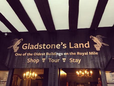 Bespoke Brand Work | Gladstone's Land, Edinburgh