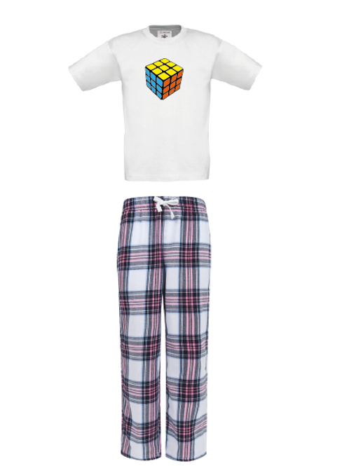 Puzzle Cube Pyjamas - Childrens