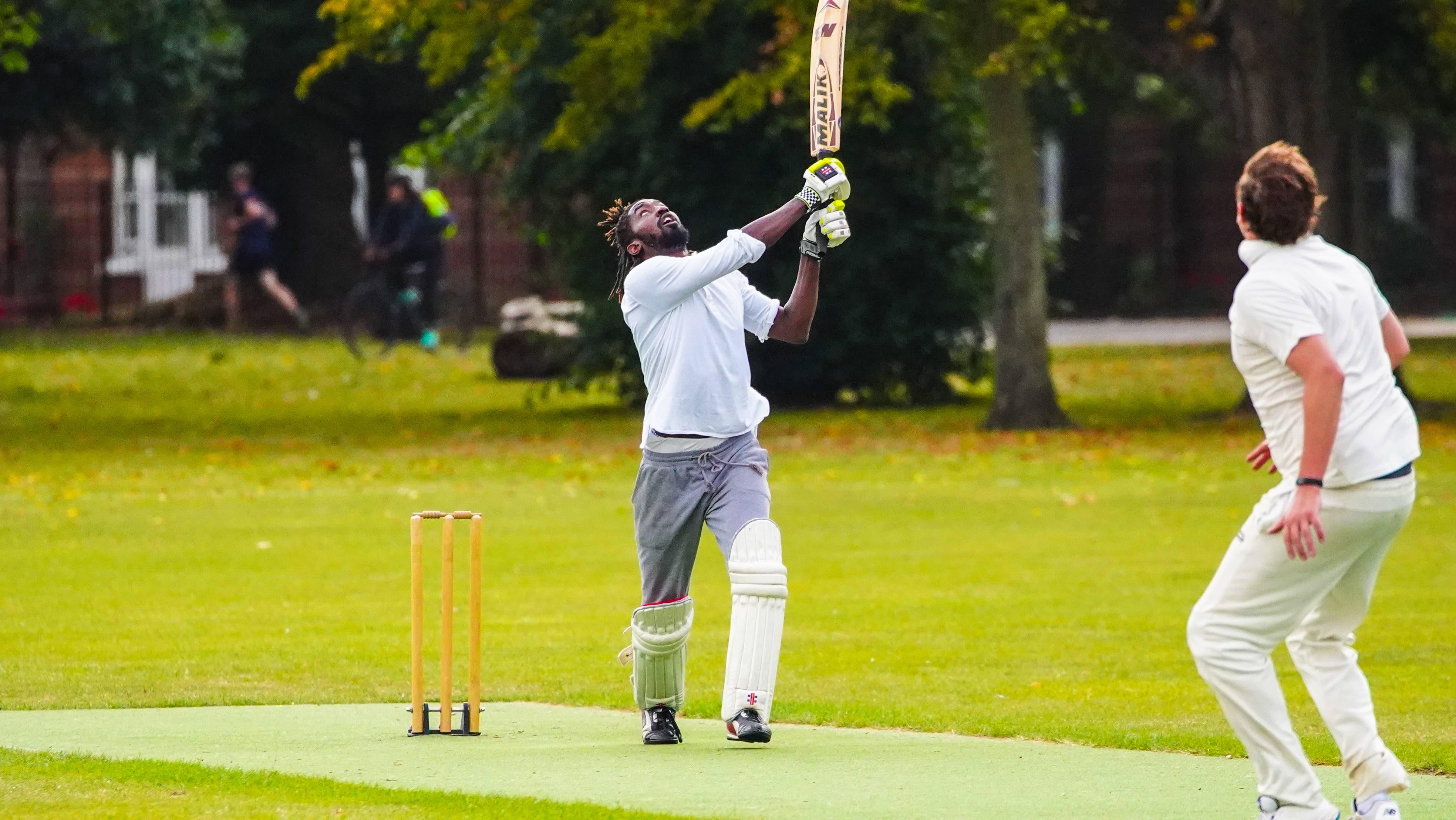Sheldon greenland batting for Masiha