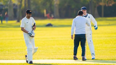 Mahran Rahman caiught behind by Ross Legg