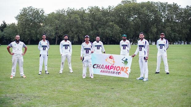Anirban champions photo - captain Arif A