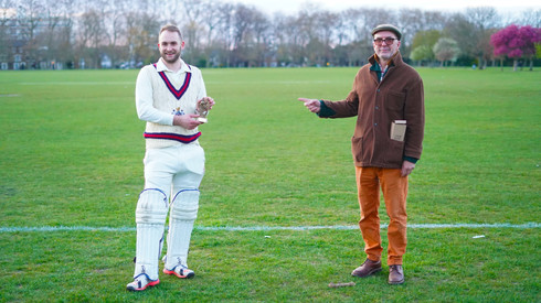 Presentations with Presidents captain Dudley Spiers and secetary Gary Horsman