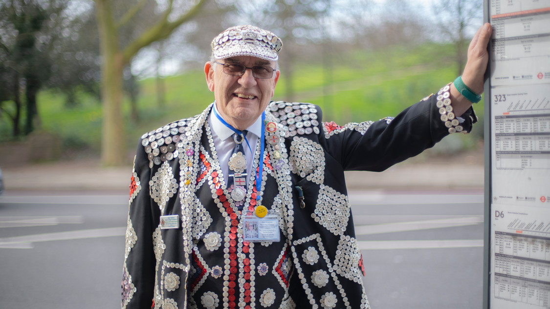 Day 46. John Walters (Pearly King