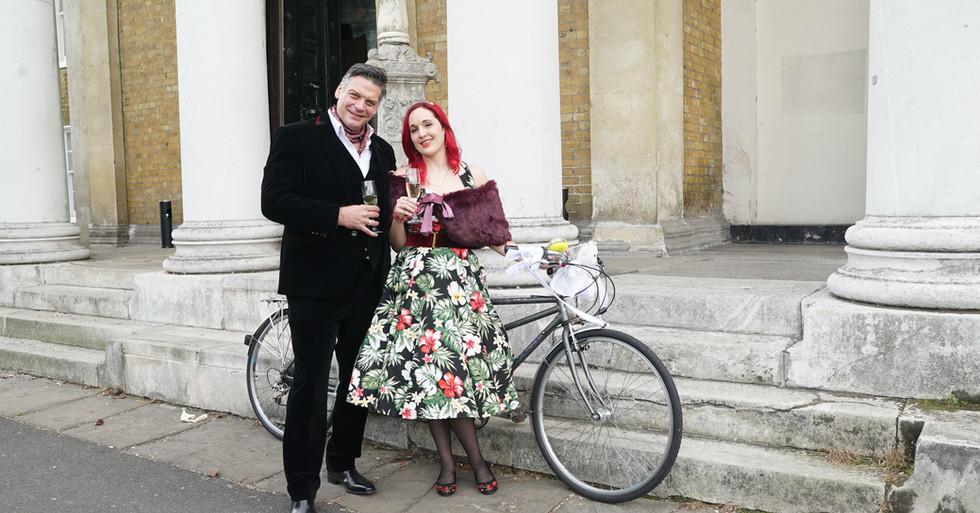 Emma and Simon's wedding