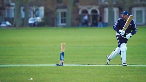 Rizwan hitting the winning runs