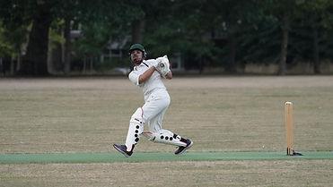 Phoenix's Mo Iqbal with a match winning