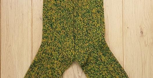 Chaussettes douillettes Lichen
