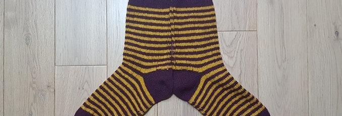 Chaussettes Biz Purple