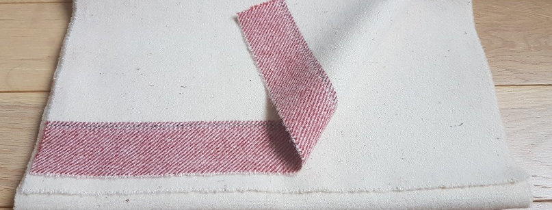 Petite écharpe écrue