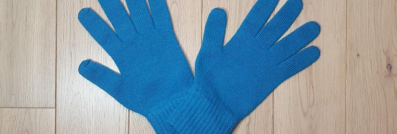 Gants Femme Turquoise pour mains fines