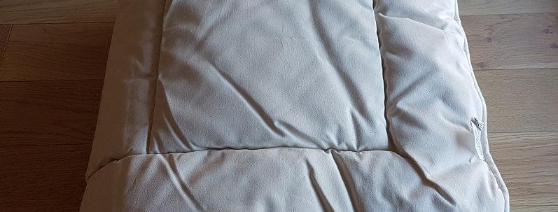 Couette en laine et coton bio deux places